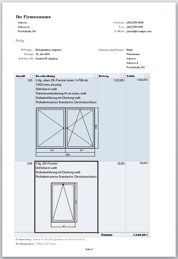 Fenstergrafik Einfach Angebotsskizzen Im Fensterbau Erstellen